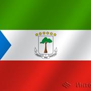Флаг национальный Экваториальная Гвинея фото
