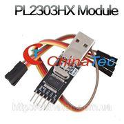 Модуль преобразователя конвертера USB - RS232 TTL Auto PL2303HX фото
