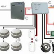 Проектирование, монтаж и установка пожарно-охранных систем фото
