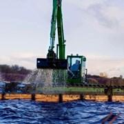 Плавающий экскаватор Waterking WK 90 фото