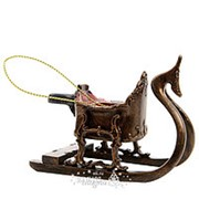 Елочная игрушка «Сани Деда Мороза», 9*5*7 см (Kaemingk) фото