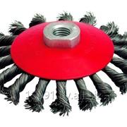 Щетки по металлу дисковые, чашечные фото