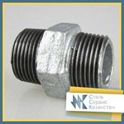 Ниппель стальной 80 ГОСТ 8967-75, оцинкованный фото