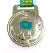 Медаль рельефная за 2-е место серебро фото
