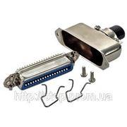 Разъем CENC-36F — розетка 36 контактов для пайки на кабель, (металлический корпус) фото