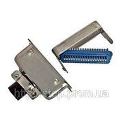 Разъем CENC-24M — вилка 24 контакта для пайки на кабель, (металлический корпус) фото