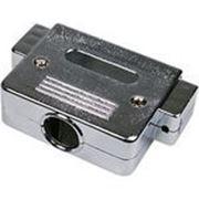 Корпус DN-50C для разъема D-Sub 50/78 контактов, металлизированный фото