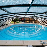 Павильоны для бассейнов. Накрытия для бассейнов фото