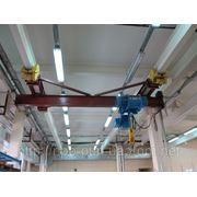 продам Кран-балки мостовые электрические однобалочные подвесные г/п 6,3 т пролет 15 м. фото