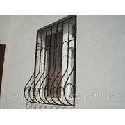 Решетки на окнах фото