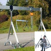 Кран козловой портативный (ПКК) складной стационарный передвижной г/п 3т фото
