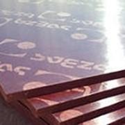Фанера ламинированная береза, Свеза 1220x2440 - 21мм фото