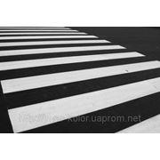 Краска для разметки дорог(белая) фото