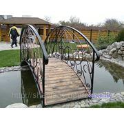 Кованый мост фото