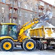 Вывоз снега, уборка территорий. фото