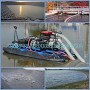 Очистка промышленных и сельскохозяйственных отстойников фото