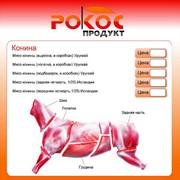 Мясо Конина фото