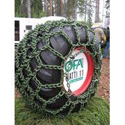Цепи на колеса для лесной техники OFA фото