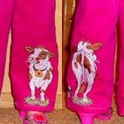 Детские зимние брюки фото