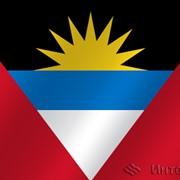 Флаг национальный Антигуа и Барбуда фото