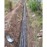 Прокладка сетей канализации фото