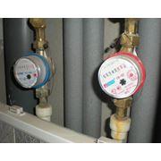 Установка, замена счетчиков воды холодной и горячей воды Киев фото