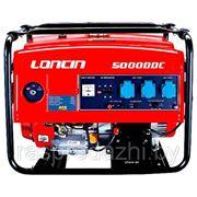 """Генератор LONCIN LC5000DC 4,0/4,5 квт, колёса,50/60 Hz,бак 25л. """"LON"""" фото"""