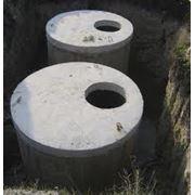 Строительство колодцев канализаций септиков под ключ. фото