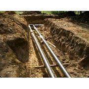 Прокладка сетей канализации Киев фото