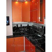 Стеклянный кухонный фартук купить в Кременчуге фото