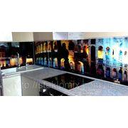 Стеклянный кухонный фартук Колизей купить в Кировограде фото
