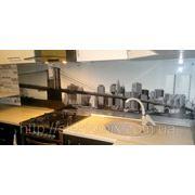 Стеклянный кухонный фартук купить в Днепродзержинске фото