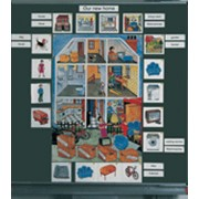 Noname Гарри и Салли. Магнитный плакат «Наш новый дом» арт. RN16976 фото