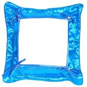 Подушка сублимационная с наволочкой (Голубая) 32х32см фото