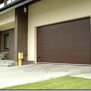 Ворота RSD01SC коричневые фото
