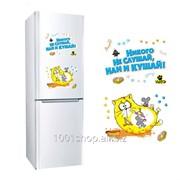 Наклейка для холодильника Никого не слушай, 2 листа фото