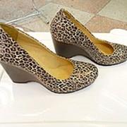 Туфли женские кожаные фото