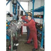 Сто по ремонту грузовиков Mercedes фото