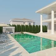 Дизайн бассейна 25 фото