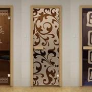 Двери стеклянные для бани и сауны Aldo фото
