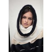 Пальто жіноче Норка фарбована М611 фото