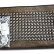 Греющий мини-мат с турманиевой керамикой Mini-Mat. Основной механизм лечебного действия связан с эффектом теплолечения, литотерапии (лечение полудрагоценными камнями и минералами) и ионотерапии. фото