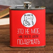 Фляжка «Это не моё», 210 мл фото