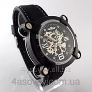 Мужские часы Winner механика с автозаводом, цвет корпуса черный 1165 фото