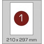 Самоклеющаяся бумага А4 (210 х 297 мм.), 100 листов в картонной упаковке фото