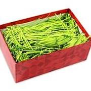 Наполнитель бумажный Miland, неон салатный, 100 гр., НБ-2115 фото