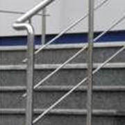 Изготовление, монтаж лестниц, перил из нержавеющей стали, алюминия фото