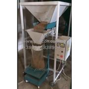 Фасовочный полуавтомат для гранулы (пеллеты), крупы, сахара и т.д. фото