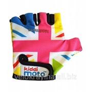Перчатки детские Kiddi Moto британский флаг в цветах радуги CLO-42-97 фото