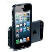 Бампер SGP Case Linear EX Slim Metal Series Metal Slate для iPhone 5 фото